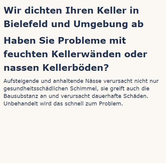 Kellerwände, Schimmelpilze, Altbausanierung für 33415 Verl